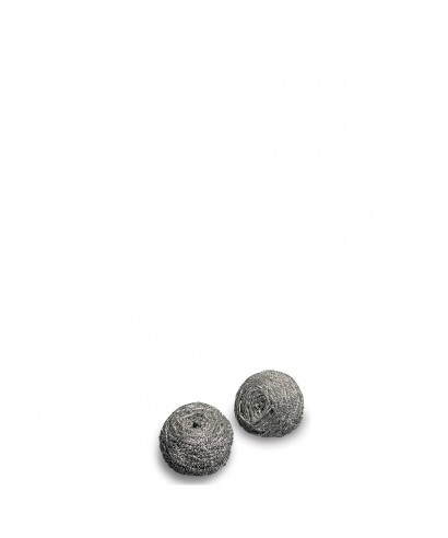 Spugna Abrasiva Spirale Inox 30 Filo di Acciaio Pz10 - Arix