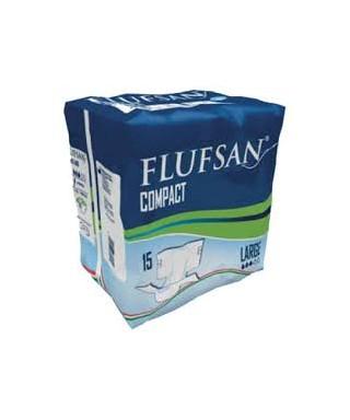 CELMAX FLUFSAN COMPACT PANNOLONE ADULTO LARGE PZ.15
