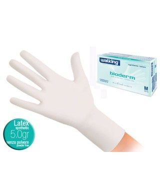 Guanti in lattice Bioderm Mis.L pz.100 - Walking