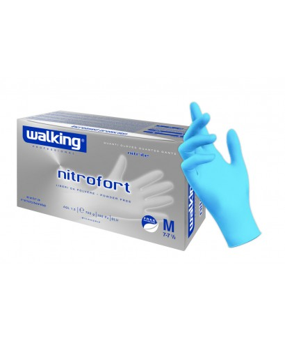 Guanti Nitrofort Nitrile Mis.L Pz.100 - Walking
