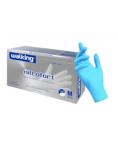 Guanti Nitrofort Nitrile Mis.M Pz.100 - Walking