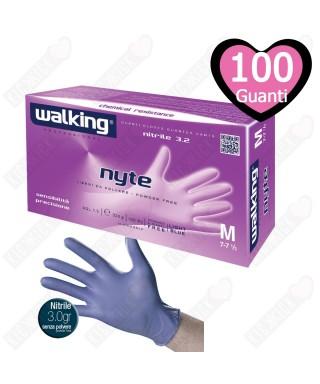 Guanti Nyte Nitrile Mis. L Pz.100 - Walking