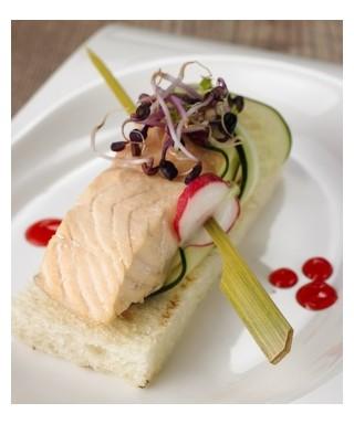 Aperi-spiedo bamboo pz.500 - Crown Chef