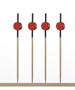 Spiedini Bamboo Deco Japan cm.9 pz.100 - Crown Chef