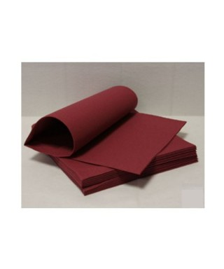 Tovagliolo 40x40 Light Bordeaux 16x50pz - Roial