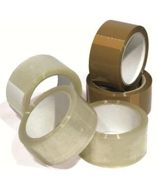 Rotoli nastro adesivo 50x66 acrilico trasparente pz.6
