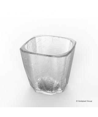 Bicchiere trasparente Mini Drink Cube pz.8 - Gold Plast