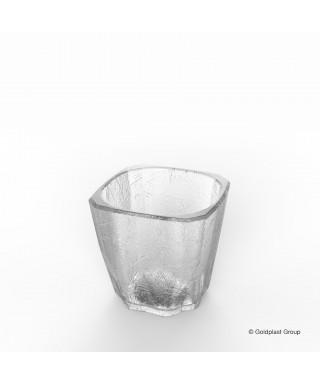 Bicchiere trasparente Shot Cube pz.6 - Gold Plast