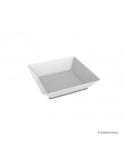 Vassoio small plate polpa di cellulosa pz.50 - Gold Plast