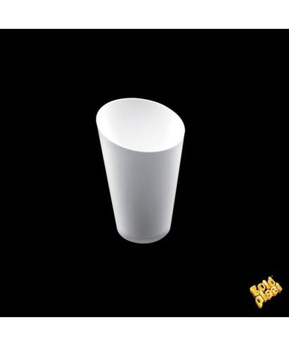 Bicchierino Conico alto bianco pz.25 - Gold Plast
