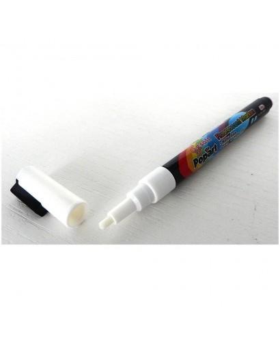 Pennarello bianco a gesso liquido 3mm - Stilcasa