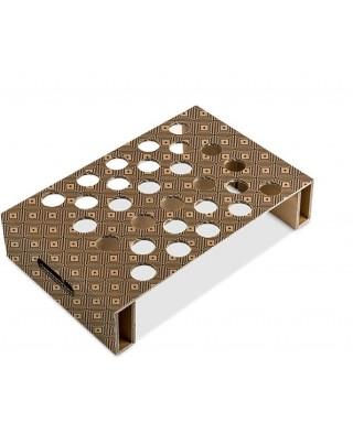 Vassoio in cartone portaflute 43x30 - Marcheselli