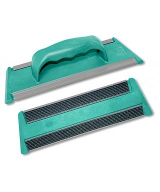Telaio Clean Glass verde cm.30 con velcro e maniglia - tts
