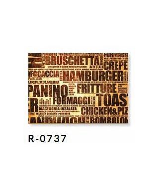 Tovaglietta 30x40 Golosa Marrone pz.250