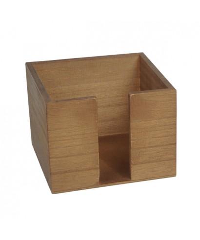 Portatovaglioli 13,5x13,5x10  in legno