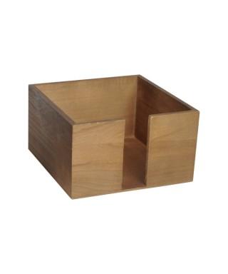 Portatovaglioli 33x33 in legno pz.singolo