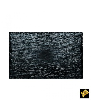Piatto Rock Medium Nero pz.10 - Gold Plast