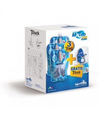 Kit Palbox T-Duck con T-bag Macro Cream kg.3 - Nettuno