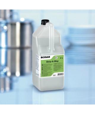 Disincrostante Acido Lavastoviglie Strip A Way lt.5 - Ecolab