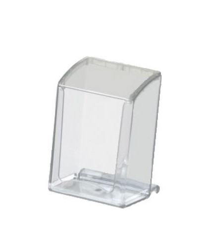 Portatovaglioli Kristal con coperchio trasparente - Leone