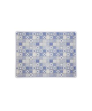 Tovaglietta maiolica blu 31x41 cm 6 pezzi
