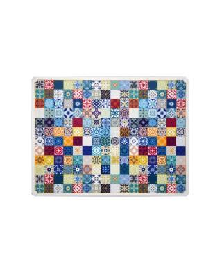 Tovaglietta maiolica colorata 31x41 cm 6 pezzi
