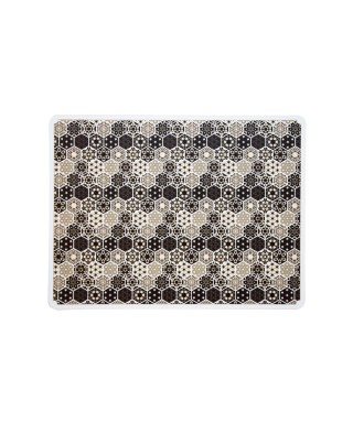 Tovaglietta maiolica esagonale 31x41 cm 6 pezzi