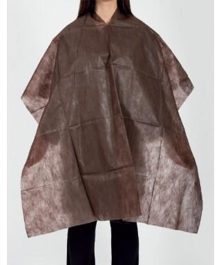 Mantellina in tnt grigia 100x120 cm, 10 pezzi