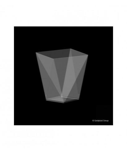 Coppetta Diamond trasparente 100 cc, 25 pezzi