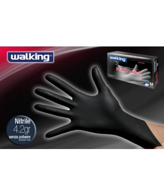 Guanti Black Nitro Mis. L Pz.100 - Walking