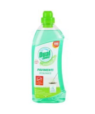 Detergente pavimenti ecologiaco Dual Power 1 litro