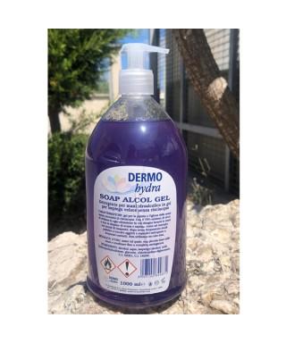 Gel mani igienizzante Dermo Soap Alcolgel 1 litro